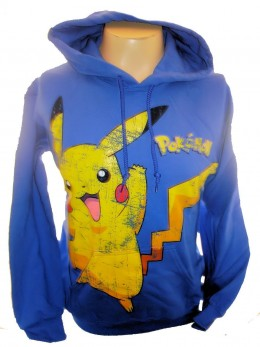 At this time no Pokemon Hoodies or sweatshirts are being sold.