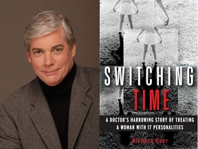 Left: Author Dr. Richard Baer Right: Cover of Switching Time