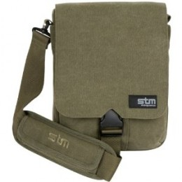 STM BAGS Scout Extra Small Laptop Shoulder Bag, Fits up to 13 Inch Screens, Olive