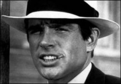 "Warren Beatty starred in ""Kaleidoscope"" (1966)"