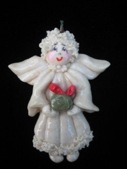 Charming angel - photo from www.artfire.com
