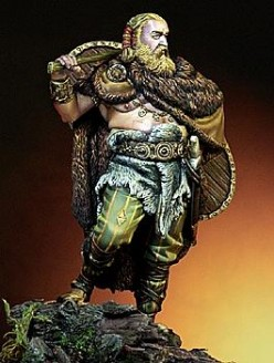 Germanic warrior, 410AD