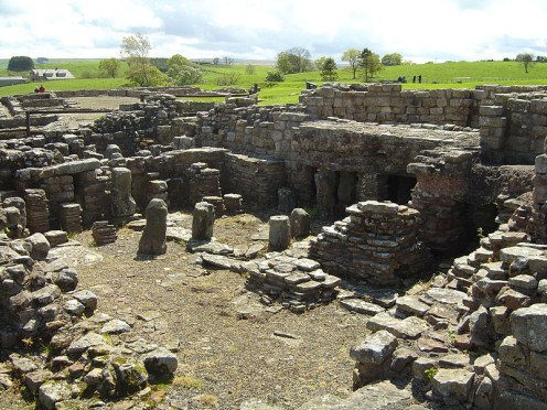 The Vindolanda Fort Ruins