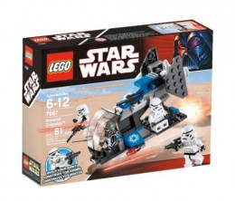 LEGO Star Wars 7667 Imperial Dropship - Box