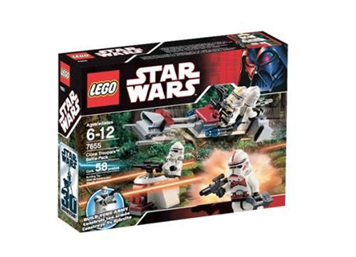 LEGO Star Wars 7655 Clone Troopers Battle Pack - Box