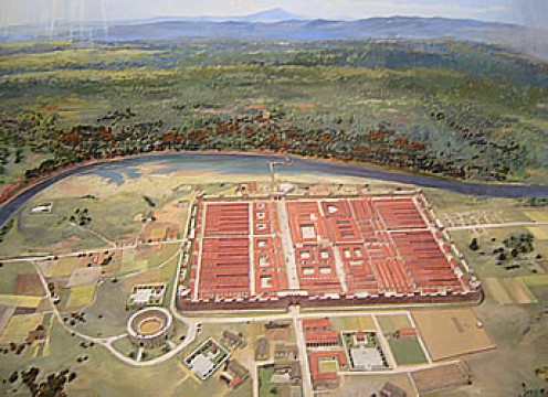 The  Roman Fort of Chester