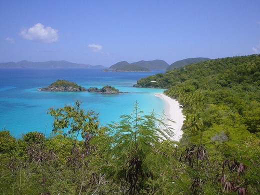Trunk Bay, St. John, U. S. Virgin Islands