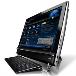 The HP TouchSmart 9100 Business PC