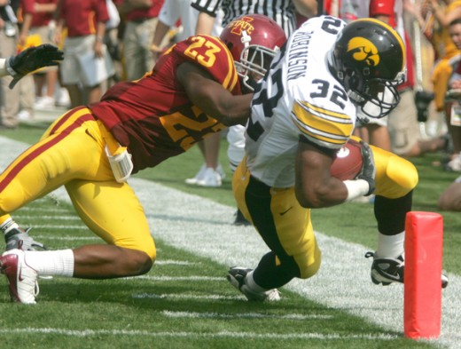 RB Adam Robinson (Iowa)