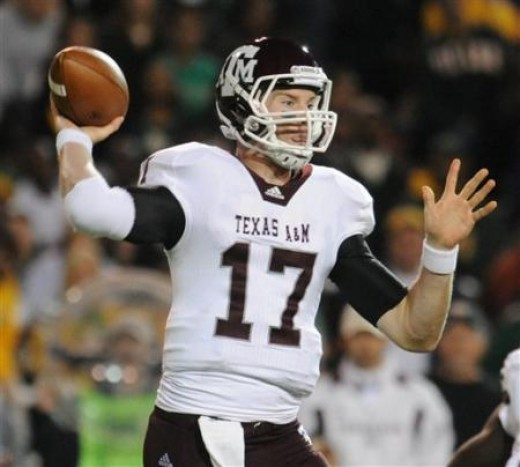 QB Ryan Tannehill (Texas A&M)