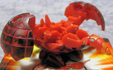 Red Pyrus Smoke Bakugan Wired 530G