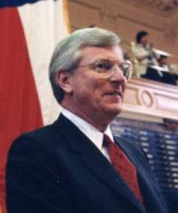 Former Governor Mark White.