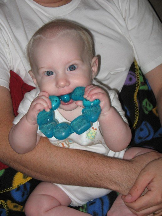 Infant Teething Ring
