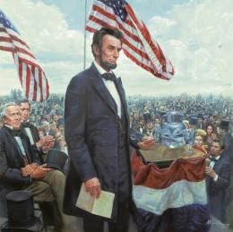 Lincoln's Gettysburg Address Memorial Day