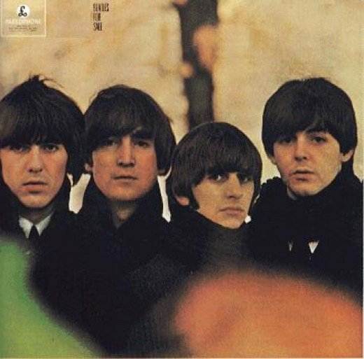 The Beatles in Album Cover