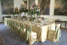 Floor Length Trestle Table Cloth