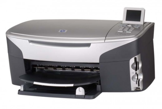HP Photosmart 2610 All-in-One Printer