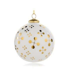 Another beautiful ornament by Jonathan Adler (can you tell he's my fave?)