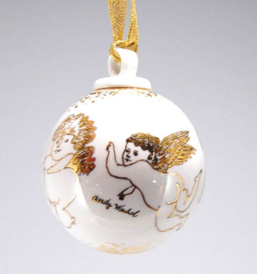 This is a Rosenthal for Andy Worhal ornament.