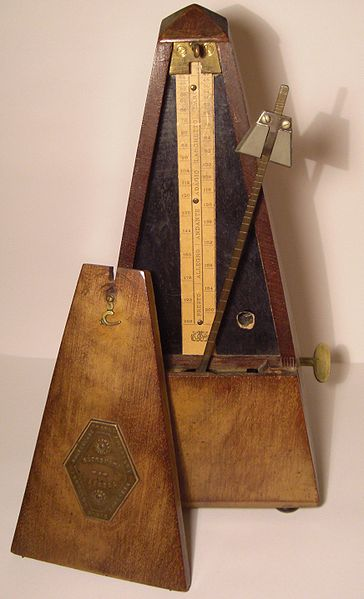 Metronome--mechanical technology.