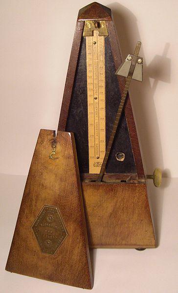 Metronome--mechanical technology.