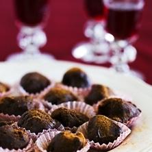 Mulled wine truffles!