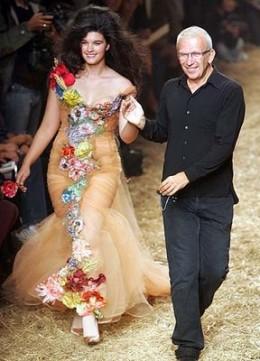 Crystal Renn for Jean Paul Gaultier