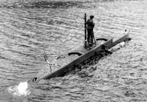 British Naval X-Boat of 1943
