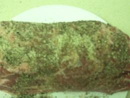 Pork Seasoned with Salt and Pepper