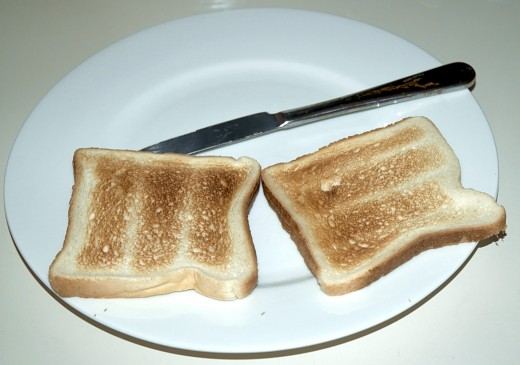 It's important to make sure your toast is cooked to the perfect finish.