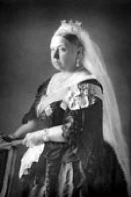 Queen Victoria didn't look like this when she married!