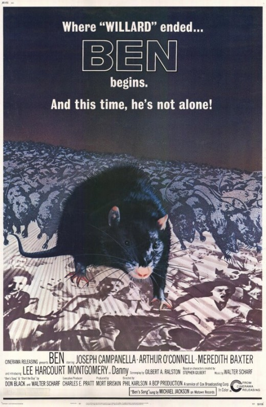 The starring role in this movie went to a rat