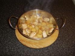 Keeping the Stir Fry Warm