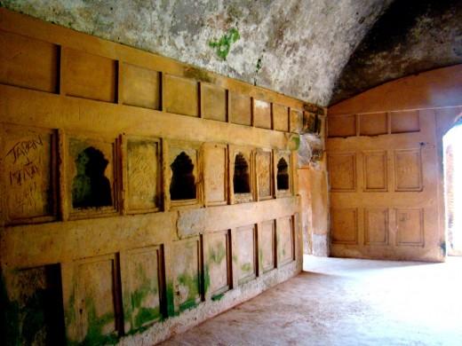 Inside Talatal Ghar