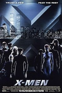 Movie Poster Image for X-Men.  Poster design by BLT & Associates  Source IMP Awards.
