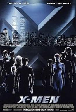 Movie Poster Image for X-Men.  Poster design by BLT & Associates  Source IMP Awards.