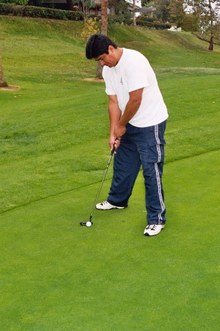 Man golf is really fun.