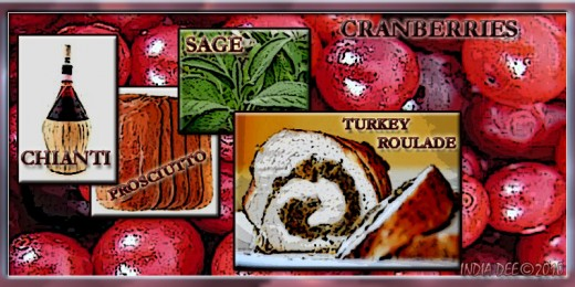 Turkey roulade Kitchen Poster