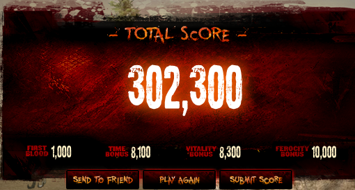 My second high score ( I forgot to screencap the first one, I was caught up in dino rage :3)