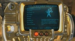 One of the hidden goodies in Fallout New Vegas is the Pimp Boy 3 Billion.  It's an upgrade Pip Boy, and it's totally Vegas.