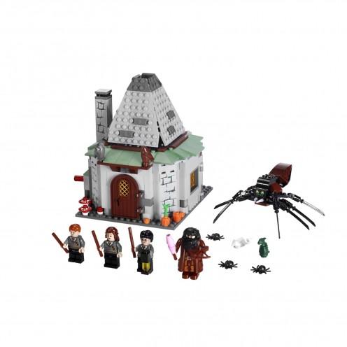 harry potter castle lego. Lego Harry Potter Hagrid#39;s Hut