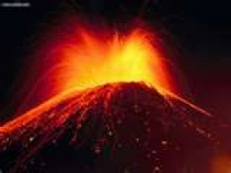Volcano on Thera