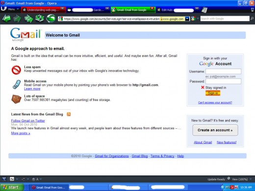 Want a Gmail account? Head on over to www.gmail.google.com and click on the 'create an account' icon on the right-hand side of the page.