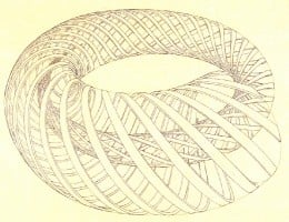 The ouroboro is the symbol of eternal return. This is a contemporary working of an ancient symbol which often shows a dragon or serpent eating its own tail.