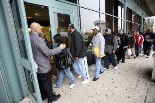 New Jersey Unemployment Line