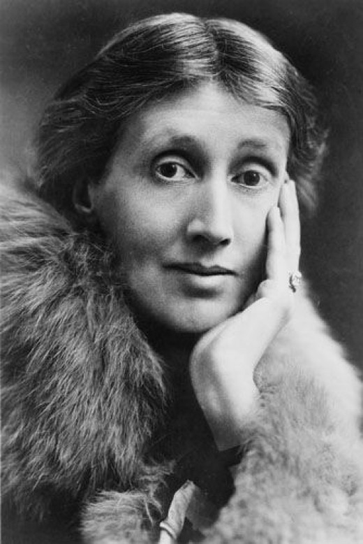 Virginia Woolf hinted at lesbian affairs for the women of Mrs. Dalloway. Woolf would go on to have a famous love affair with Vita-Sackville-West.