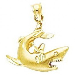 incredible shark pendant/charm
