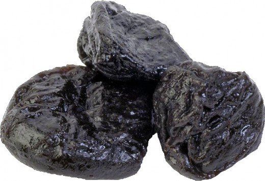 chunks of coal