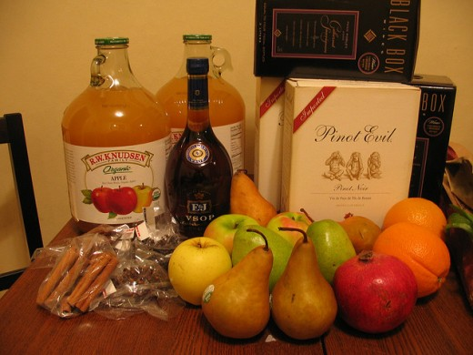 Wassail Ingredients