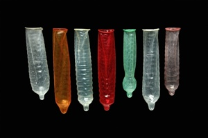Male condoms come in a variety of shapes and sizes